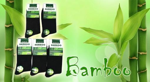 Kvalitné bambusové ponožky značky Aura Via 6 alebo 12 ks - pánske/dámske so skvelou zľavou vrátane doručenia!
