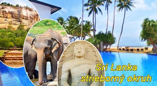 Strieborný okruh Srí Lankou...