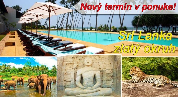 Zlatý okruh Srí Lankou na 11 dní letecky s ubytovaním, polpenziou a oddychom v hoteli Coco Royal Beach ****, odlet  teraz so skvelou zľavou 36%! Odlet z BA.