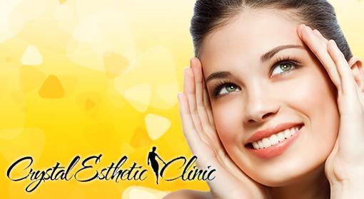 Nechirurgický facelifting čela a očného okolia alebo spodnej časti tváre v medicínskom centre Crystal Esthetic Clinic teraz so skvelou zľavou!