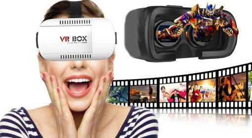 3D okuliare VR BOX pre telefóny  teraz so skvelou zľavou 43% vrátane doručenia!