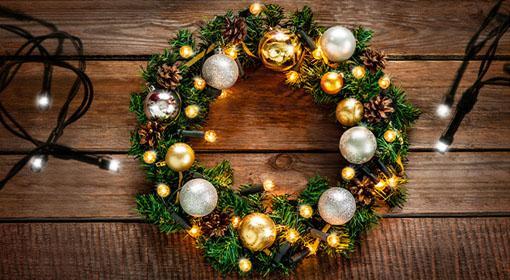 Úsporné vianočné LED osvetl...