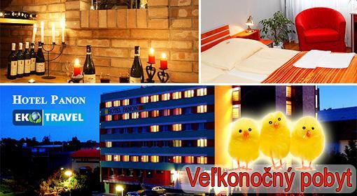 3 dňový veľkonočný pobyt v hodonínskom hoteli Panón*** s polpenziou, veľkonočnou večerou a fľašou vína.