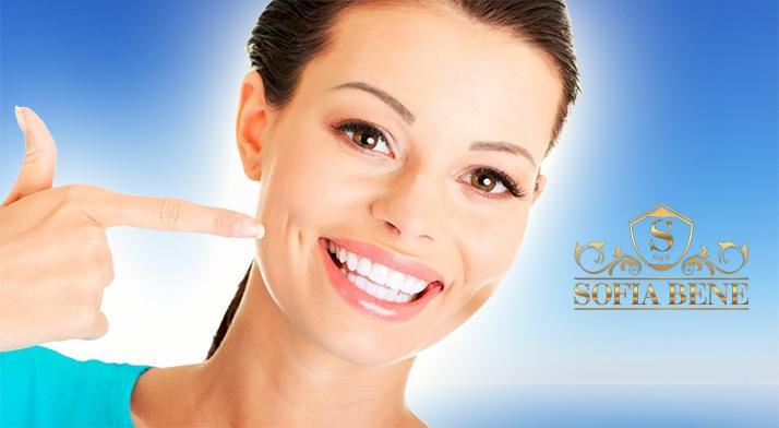 Laserové bielenie zubov bez peroxidu v salóne Sofia Bene!