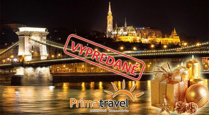 b4410669c PrimaZlavy - 1 - dňový zájazd do adventnej Budapešti po boku skúseného  sprievodcu teraz za jedinečných 19,90 €!