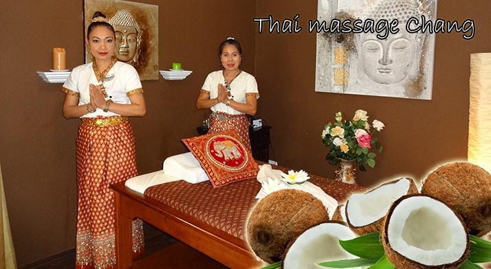 Thai massage Chang - 30 alebo 60 minútová masáž Kokosové potešenie!