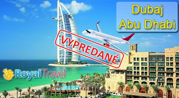 Dubaj a Abu Dhabi letecky z...