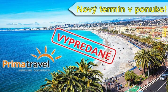Leto v Monaku a na Francúzs...