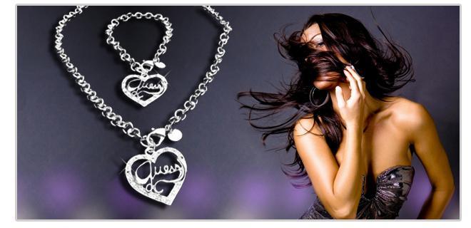 23fa6f977d Sada šperkov Guess splní sen každej ženy. Potešte svoju polovičku touto  nádhernou sadou